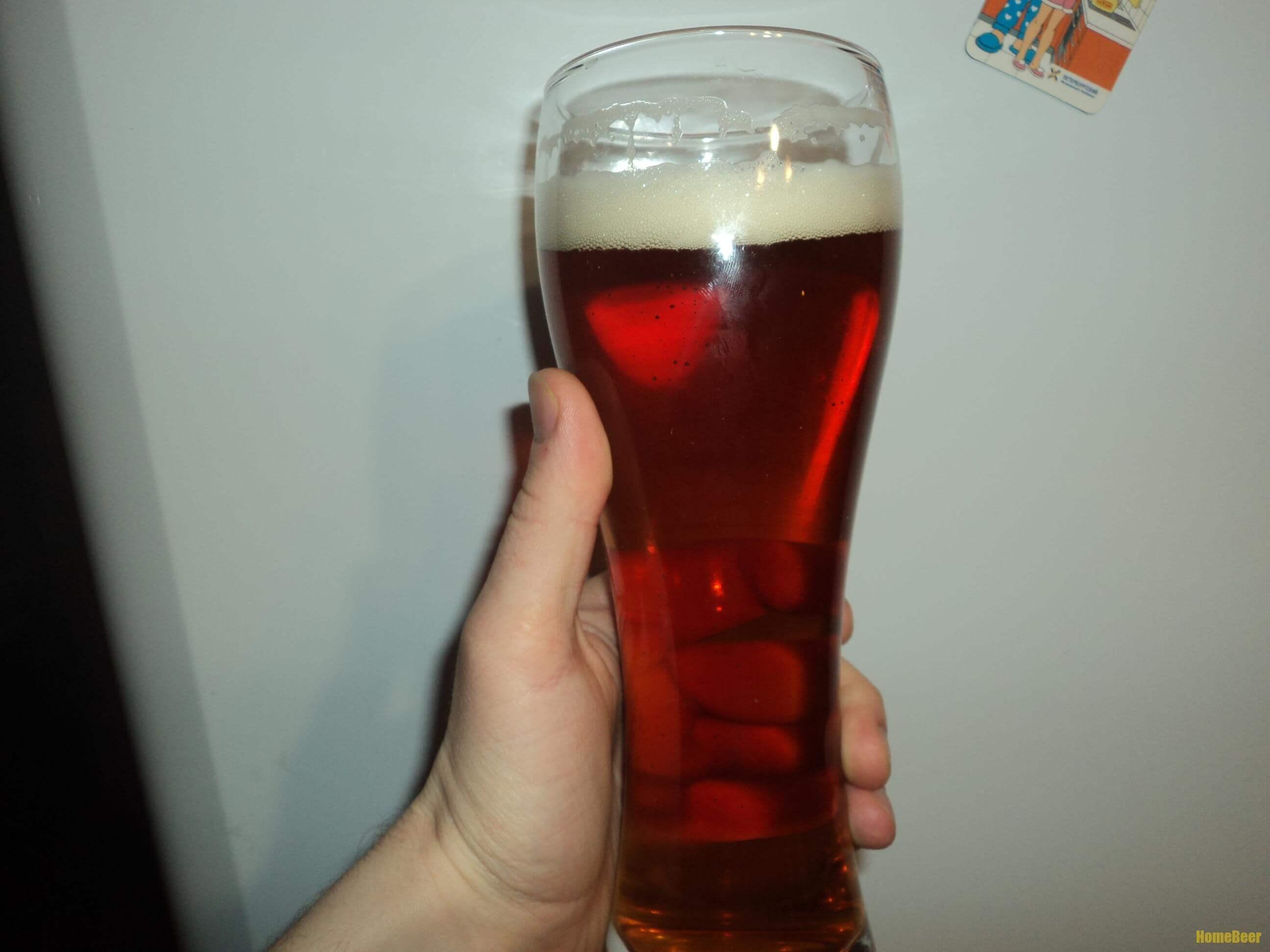 цветность пива 22 EBC