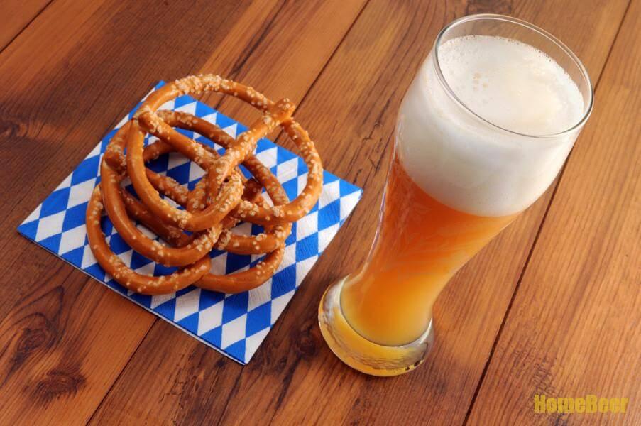 Баварские крендельки к пиву