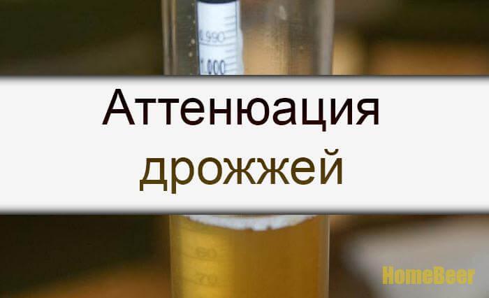 Аттенюация в пивоварении это