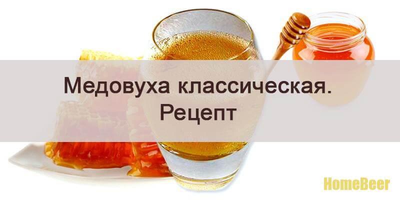 медовуха классическая рецепт приготовления дома