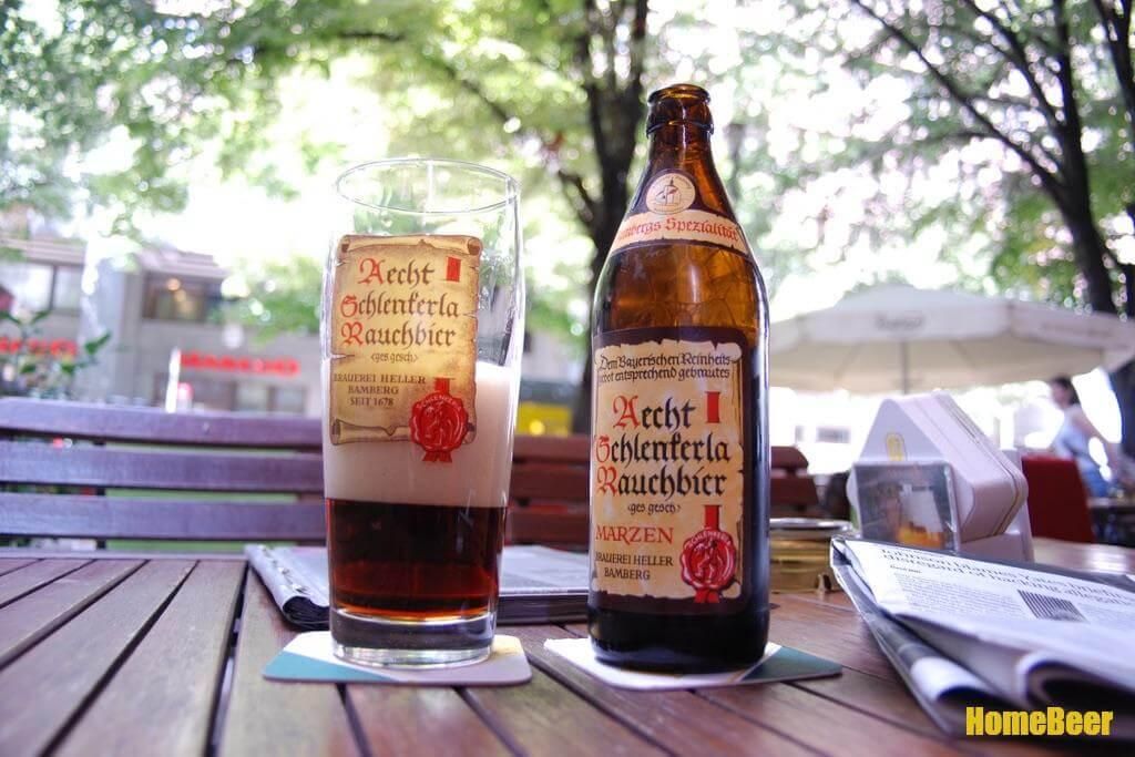 раухбир описание стиля копченого пива