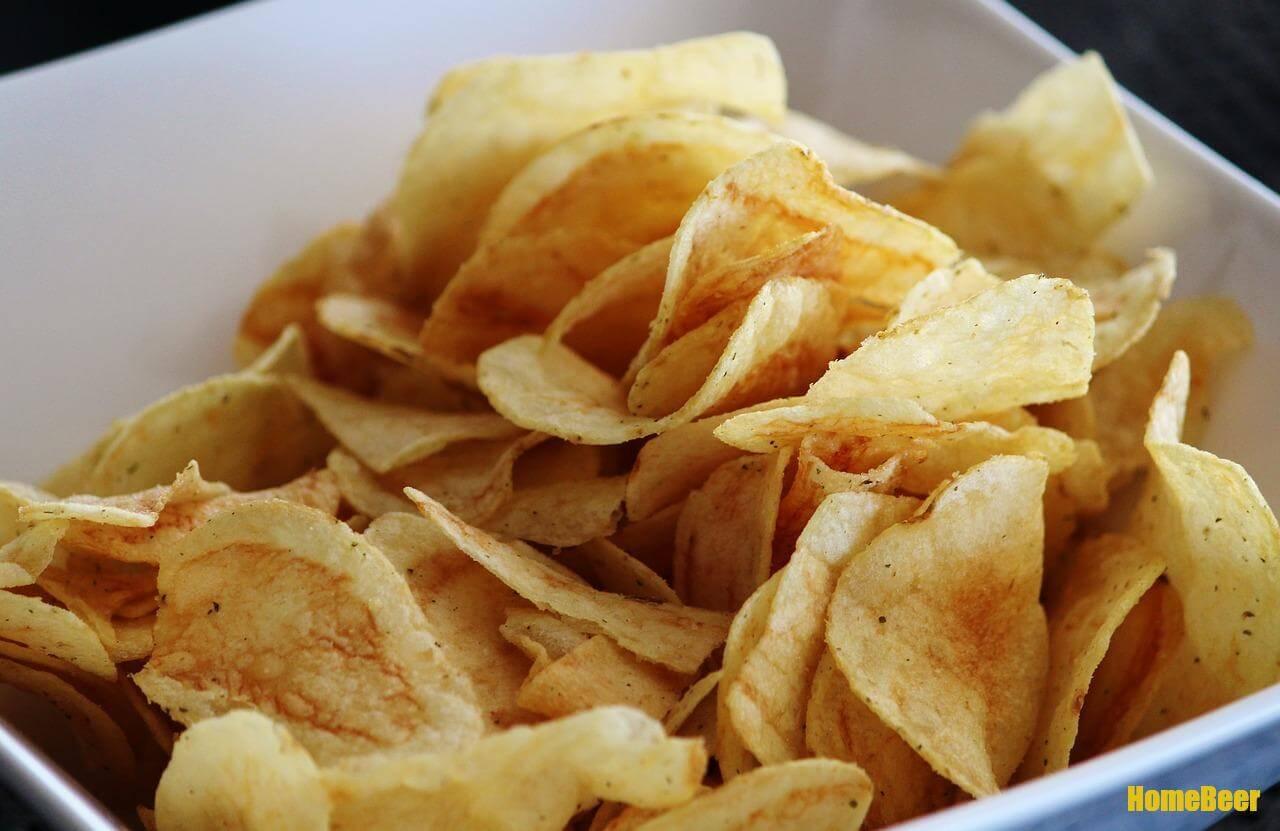 Домашние чипсы к пиву
